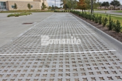 Our partner, Texas Bomanite, installed Bomanite Grasscrete in the parking lot of Hope Fellowship Church to create a pervious concrete surface that allows for proper stormwater drainage and a decrease in the overall impervious percentage on the site.