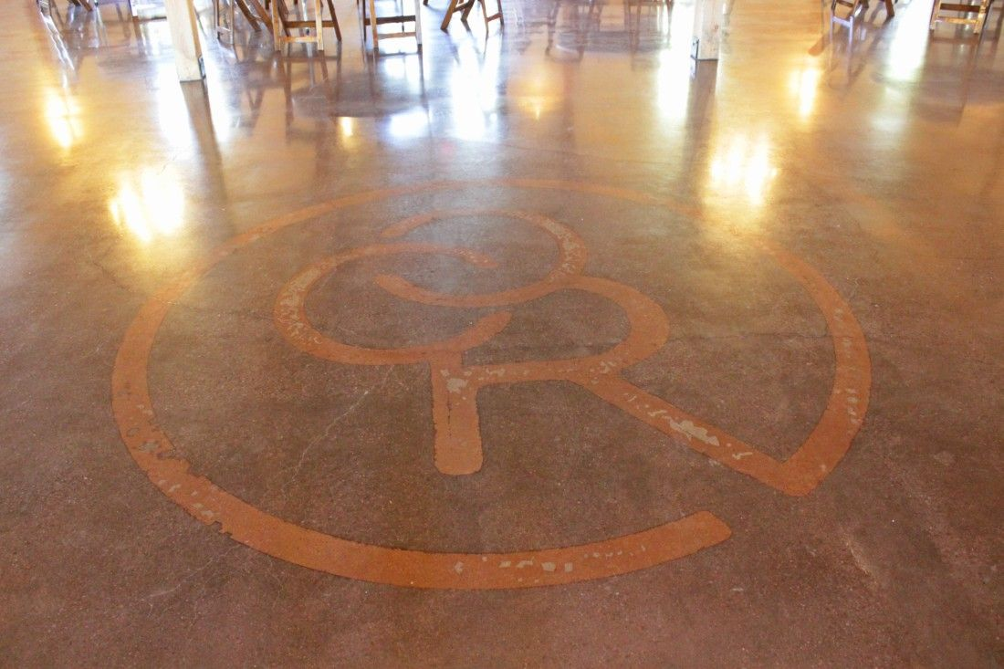 Rustic Ranch Event Center Shines with Bomanite Polished